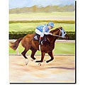 Michelle Moate 'Horse of Sport II' Canvas Art