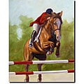 Michelle Moate 'Horse of Sport III' Canvas Art
