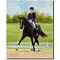 Michelle Moate 'Horse of Sport IX' Canvas Art