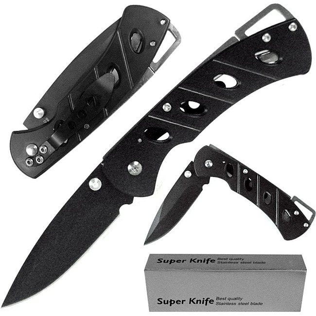 Black Raiders Lock/ Clip Stealth Knife