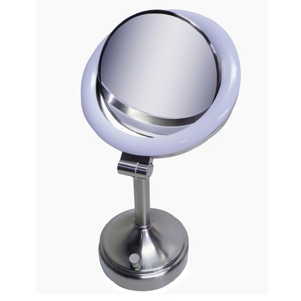 Zadro SLV410 10x/ 1x Dimmable Sunlight Makeup Vanity Mirror