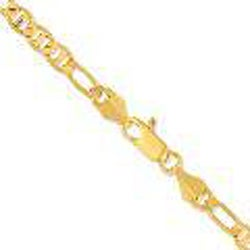 Simon Frank Figaro Gucci-style Gold Overlay 20-inch Necklace