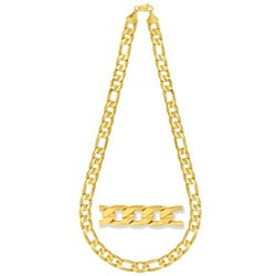 Simon Frank Figaro Gucci-style Gold Overlay 24-inch Necklace