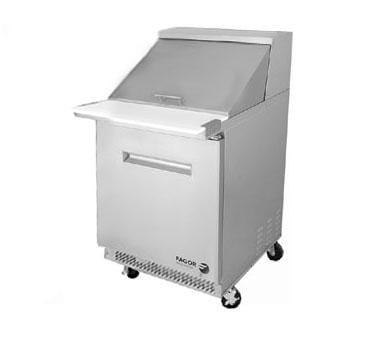Fagor Commercial FMT 27-inch 12-pan Capacity Megatop Table