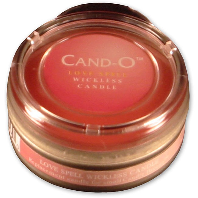 Cand-O Love Spell Small Wickless Candle