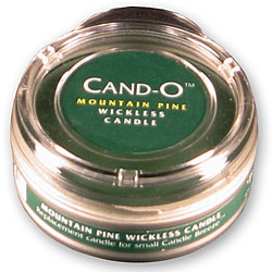Cand-O Mountain Pine Small Wickless Candle