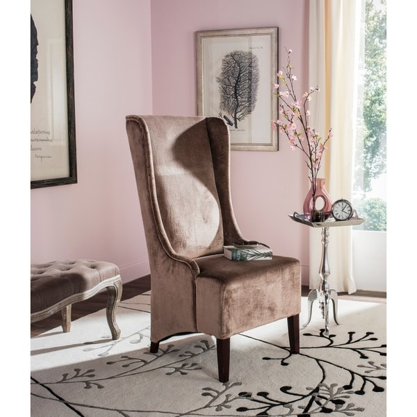 Safavieh En Vogue Dining Deco Bacall Velvet Side Chair