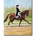 Michelle Moate 'Horse of Sport IV' Canvas Art