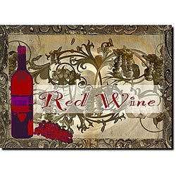 Miguel Paredes 'Red Wine' Canvas Art