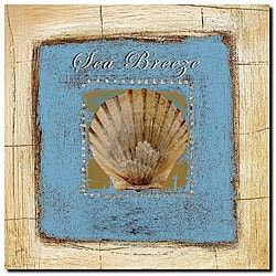 Miguel Paredes 'Sea Breeze' Gallery-wrapped Canvas Art
