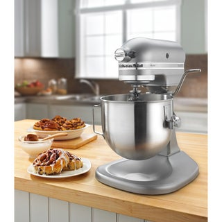 KitchenAid KSM500PSSM Silver Metallic 5-quart Pro 500 Bowl-Lift Stand Mixer **plus Overstock $30 gift card**