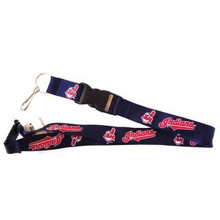 Cleveland Indians MLB Lanyard Keychain/ ID Holder