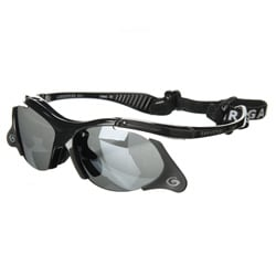 Gargoyle 'Rover Flip 8' Black/ Smoke Men's Sunglasses