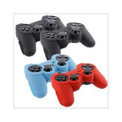 4 Skin Case Covers for Sony PlayStation 3 Controller