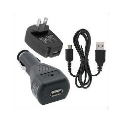 USB Cable + Car + Home AC Charger for Nintendo DS Lite