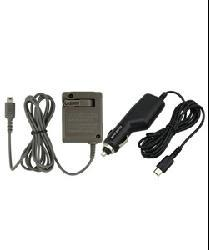 Insten Car and Home AC Wall Charger for Nintendo DS Lite