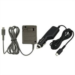 Car and Home AC Wall Charger for Nintendo DS Lite