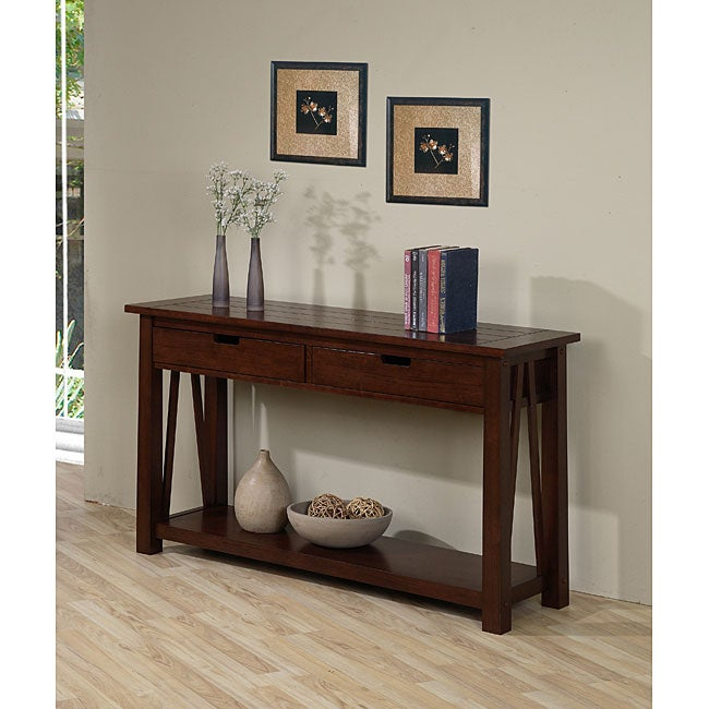 ozark 2 drawer console table 80001413