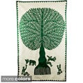 Fair Trade 'Tree of Life' Wall Hanging (India)