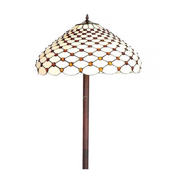 tiffany style victoria floor lamp. Black Bedroom Furniture Sets. Home Design Ideas