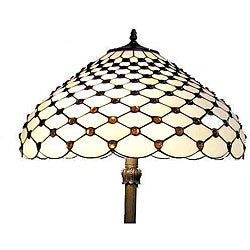 Tiffany-style Jewel Floor Lamp