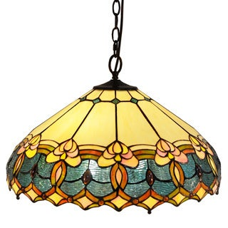 Tiffany-style Victorian Hanging Lamp