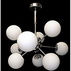 Sputnic Chrome Chandelier Atom Light Fixture