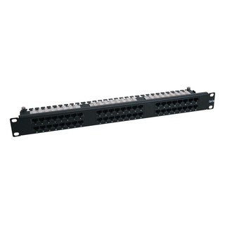 Tripp Lite 48-Port 1U Rackmount Cat6 110 High Density Patch Panel