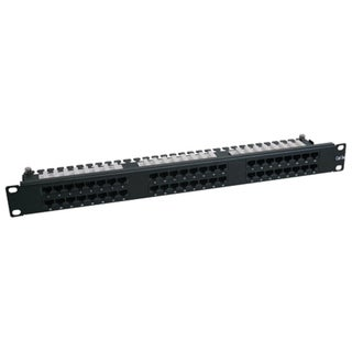 Tripp Lite 48-Port 1U Rackmount Cat6 110 High Density Patch Panel