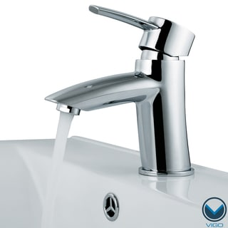 VIGO Single Lever Chrome Finish Faucet Model VG01023CH