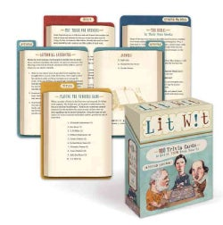 Lit Wit: 100 Trivia Cards to Boost Your Book Smarts (Cards)