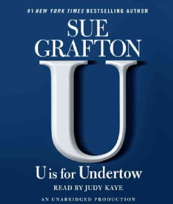 U Is for Undertow (CD-Audio)
