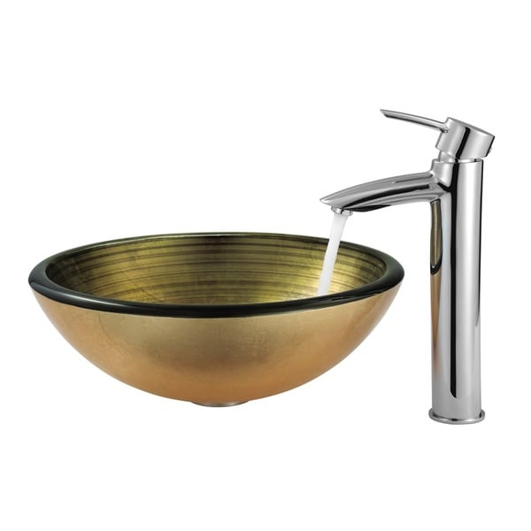 Chrome Finish Bathroom Vessel Faucet
