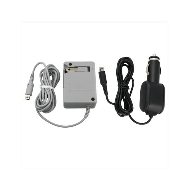 Insten Home and Car Charger Adapter for Nintendo DSI
