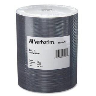 Verbatim 97017 DVD Recordable Media - DVD-R - 16x - 4.70 GB - 100 Pac