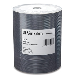 Verbatim DataLife Plus 52x CD-R Media - Printable