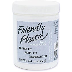 Friendly Plastic Ivory Color 4.4-oz Pellet Bucket