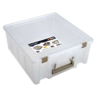 Art Bin Double Deep Translucent Super Satchel