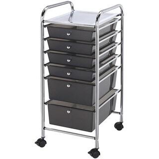 Blue Hills Studio 6-drawer Smoke Storage Cart