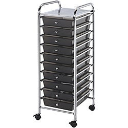 Blue Hills Studio 10-drawer Smoke Storage Cart