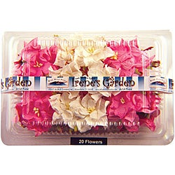 Irene's Garden Pink/ White Box o' Gardenias (Pack of 20)
