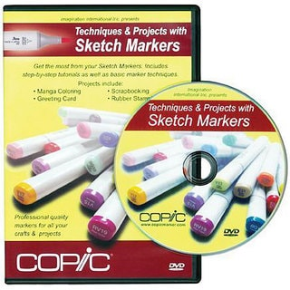 Techniques & Projects with Copic Sketch Markers DVD