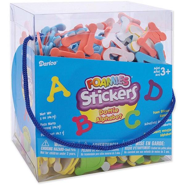 Dotty Alphabet' 5-oz Package of Foam Stickers