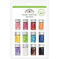 Doodlebug Sugar Coating Chunky Glitter Bottle Set (Pack of 12)