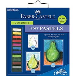Creative Studio Getting Started Soft Pastels Art Kit
