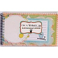 On A Whimsy 24-page 5x8 Spiral Notebook Journal