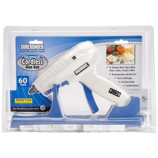 Surebonder High-temp Cordless Blue Glue Gun