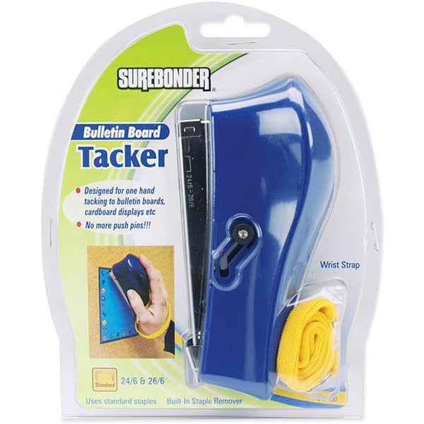 Blue Bulletin Board Tacker