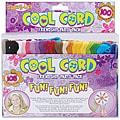 Cool Cord Assorted Colors Friendship Party Skeins (Pack of 105)