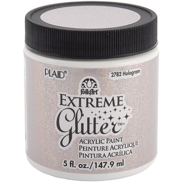 Folk Art Extreme 5-oz Hologram Glitter Paint